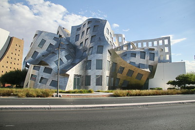The Lou Ruvo Center - Designed by Frank Gehry