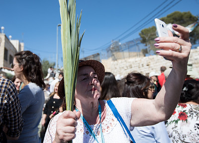 2018 Palm Sunday procession