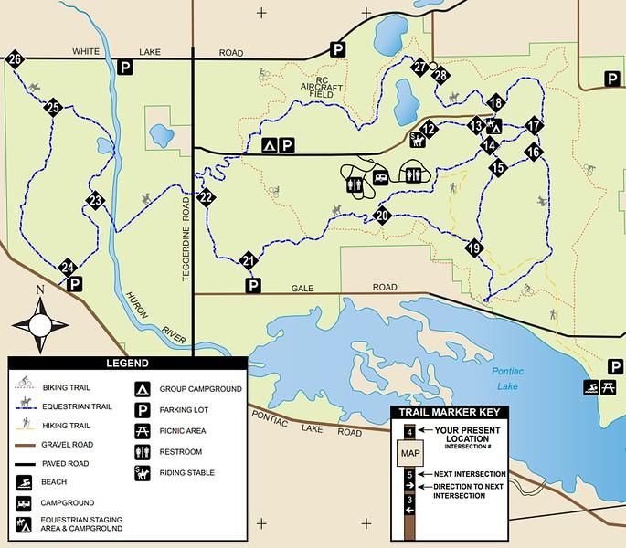 Pontiac Lake Recreation Area (Equestrian Trails)
