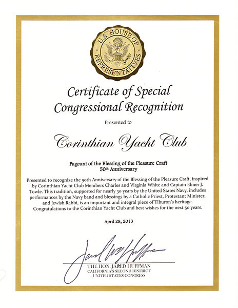 Congressional Recognition of Blessing of the Pleasure Craft 2013.jpg