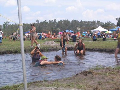Mud Volleyball 2004