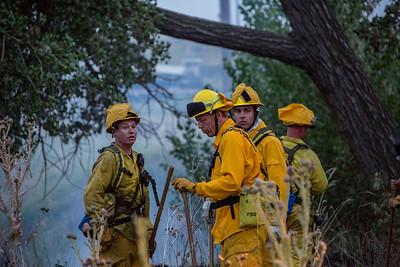Chambers & E-470 Brush Fire