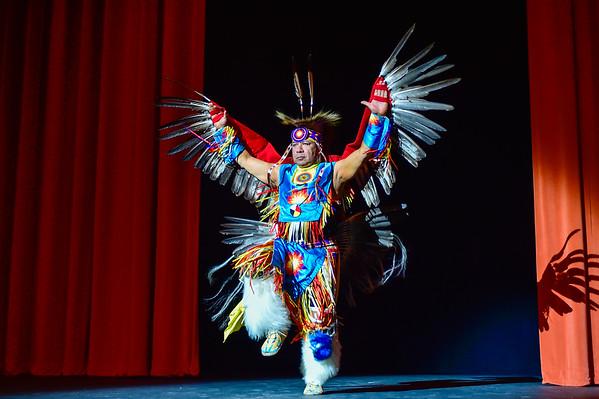 2015 Oklahoma Indian Summer Fashion Show 02-19-15