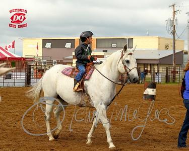 Weyburn Dairy Queen 10 & Under Kids Rodeo - 2015