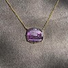 'Push Along' Purple Glass Pendant, by Seal & Scribe 26