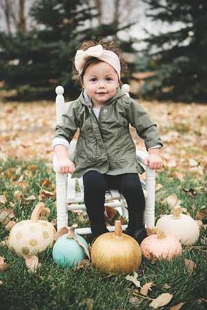 Maci and Hailey - Pumpkin Shoot {Favs} - November 2017