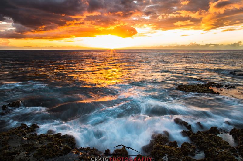 Ohikilolo Sunset, Oahu, HI #5