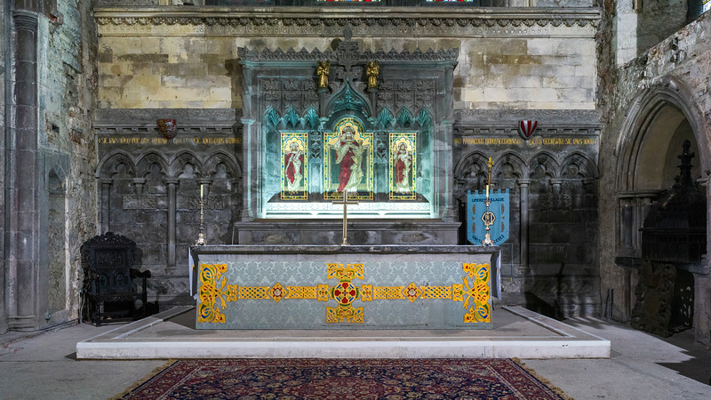 Alter in St. Mary's Cathedral, Kings Island, Limerick, County Limerick, Ireland