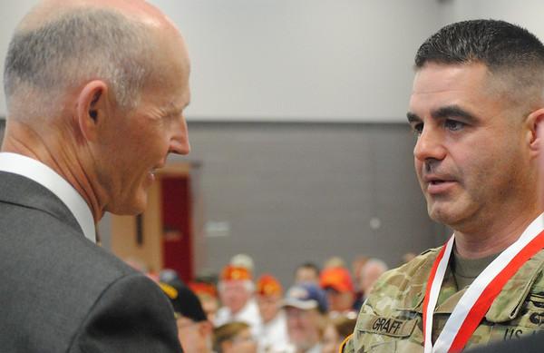 Governor's Veterans Service Award ceremony 3/27/2017