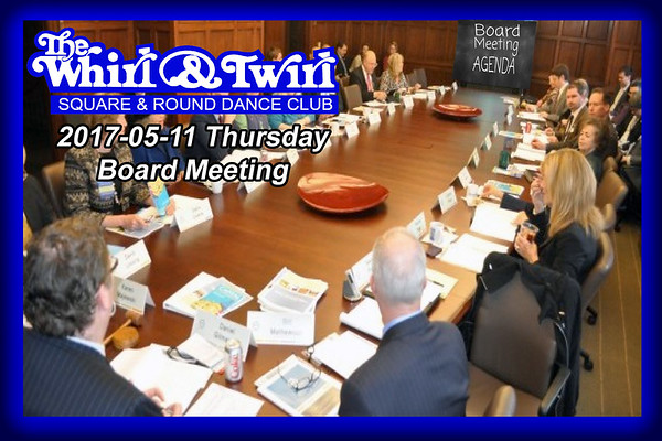 2017-05-11 WT Board Meeting