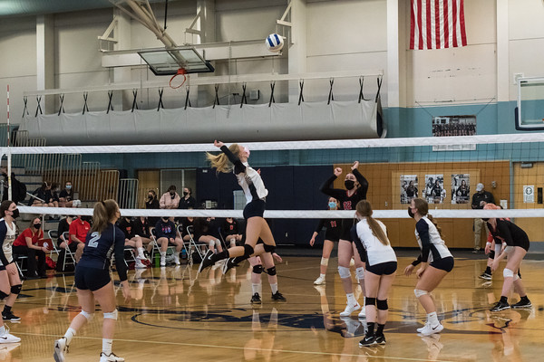 2020-21 JV Volleyball vs. Oregon City