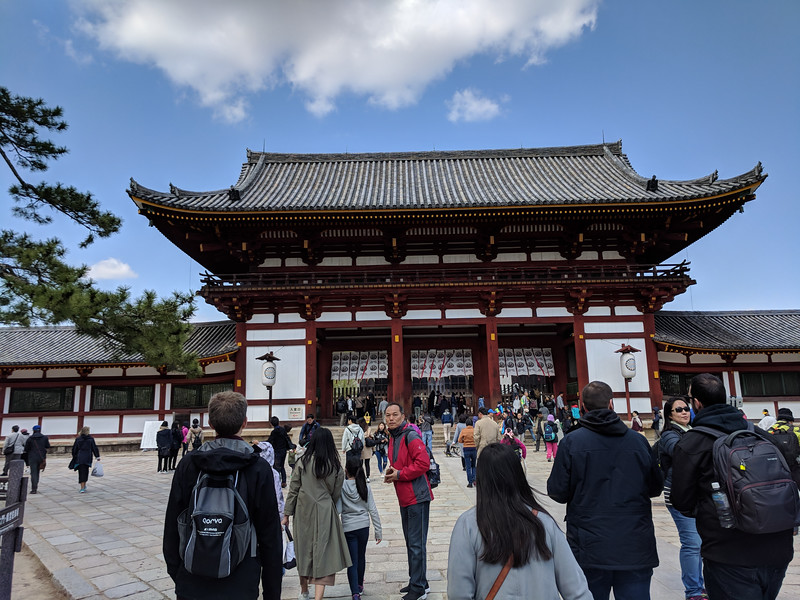 Nandaimon Gate of Todaiji