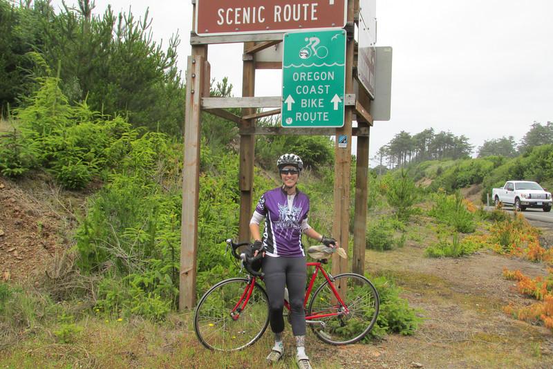 World Traveling WSU Nurse Bikes Border to Border for Charity