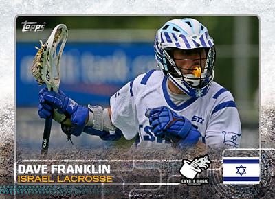 Israel Dave Franklin (ELC2012) TOPPS2015