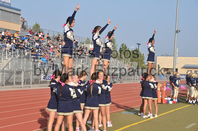 Freshman Cheer vs. MVHS