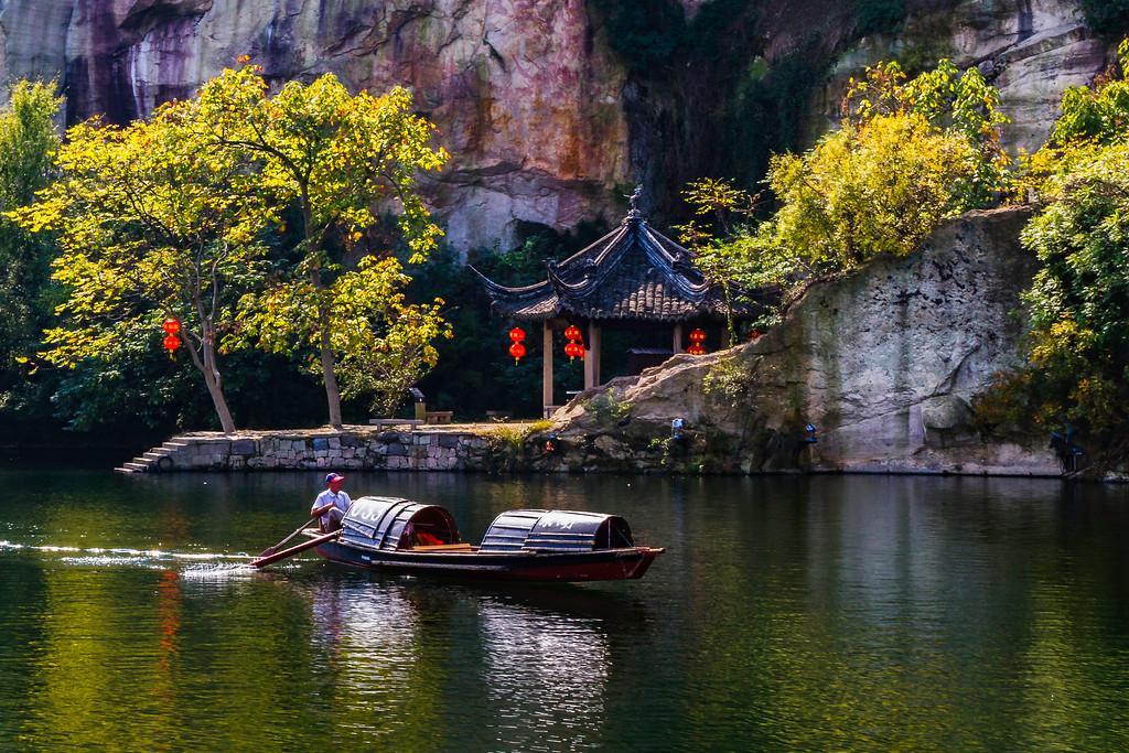 浙江东湖,湖光景色