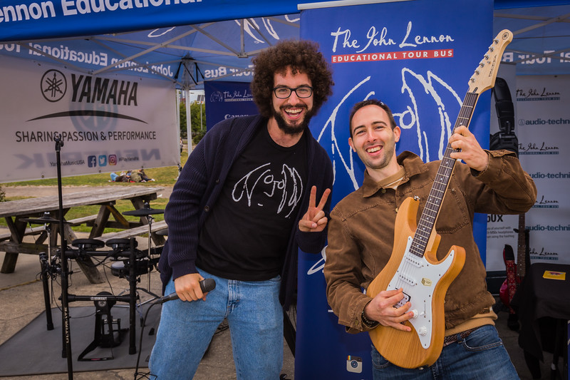 2017_09_30, audio technica, Brooklyn, Gabe Smith, giveaway winner, NY, Smorgasburg, canon, yamaha