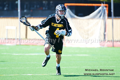 Lacrosse, Boys JV, 2015-04-11 St Anthonys #4 Vs Delbarton