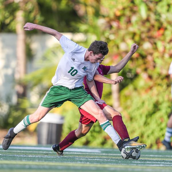 Ransom Everglades vs. Archimedean Academy.  Boys Soccer