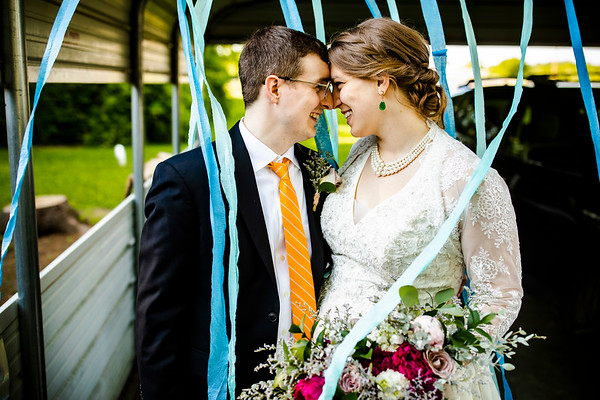 Martha + James: Wedding