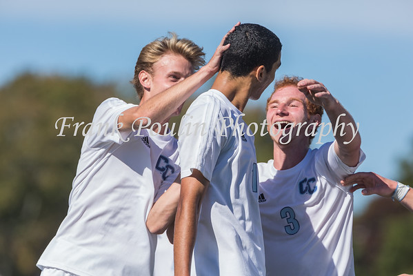 Connecticut College men's soccer 10/10/2015