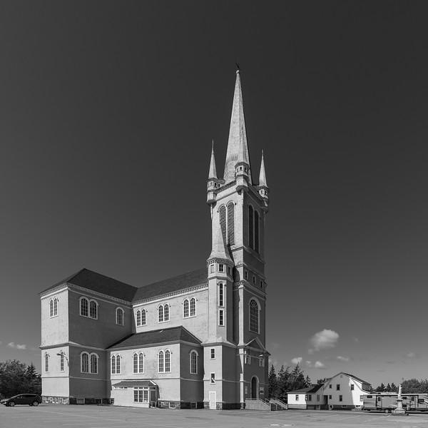 Sainte Marie Church tallest wooden structure in North America