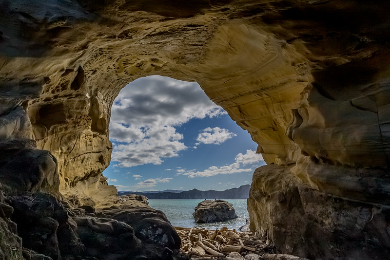 «Hole in the Wall» beim «Cooks Cove»