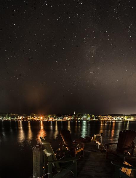 Loon Lodge Dock Stars.jpg