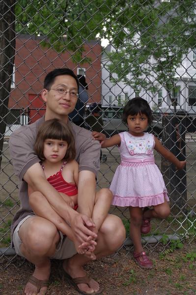 David, Guen, Sonya.