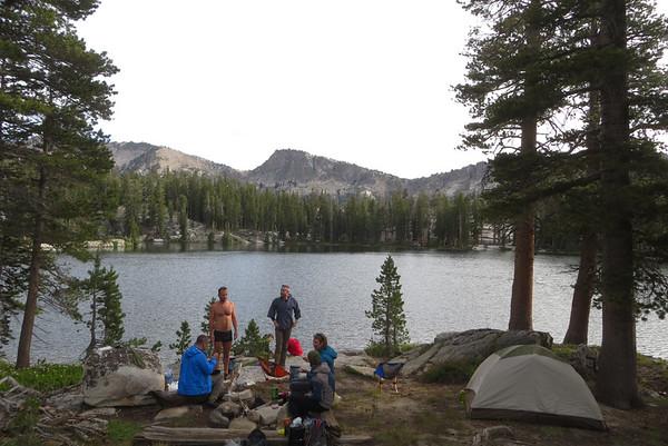 Ten Lakes: July 16-19, 2015