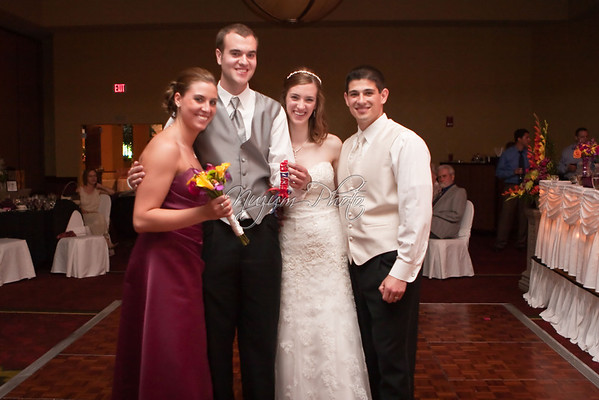 Garter and Bouquet - Kristi and Gino