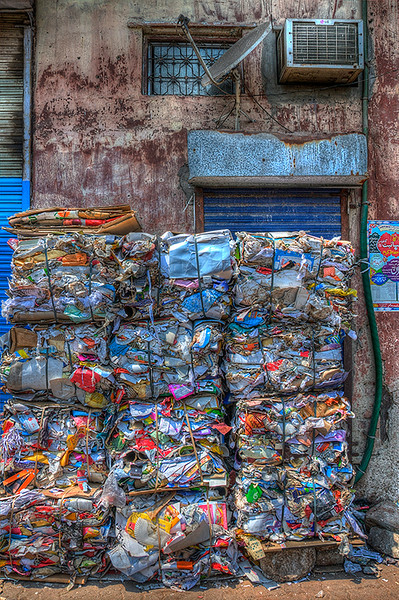 Recycling In Dharvi Slums