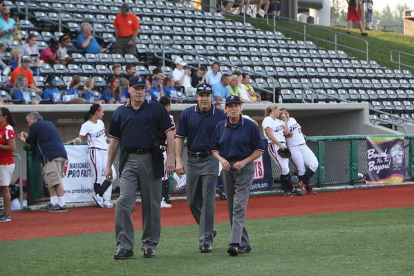 Game 1 USSSA Pride vs NPF Diamonds 8 - 10 July 2011 Marion IL