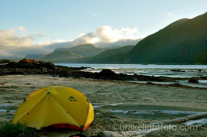 Camping at Reckless Bight