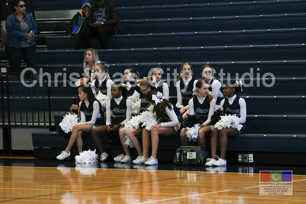 01/25/18 NMS Girls Basketball Game 1