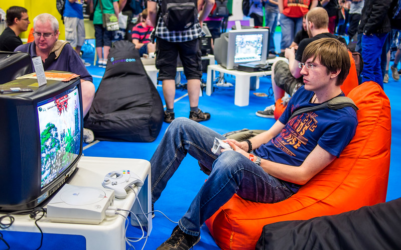 Retro-gaming at Gamescom 2013