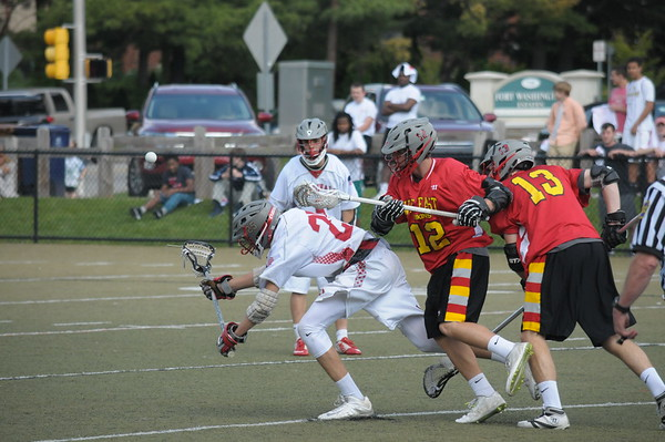 Upper Dublin boys lacrosse plays West Chester East