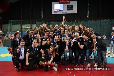20190427 Bartoccini Gioiellerie Perugia / Festeggiamenti per la vittoria del Campionato di A2 2018/19