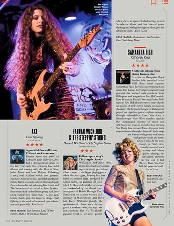 Hannah Wicklund  Album Review / Planet Rock