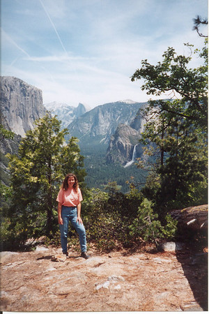 Yosemite and Smokies from around 1990