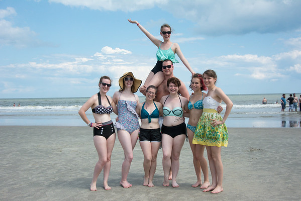 Sunday Beach Group Shots