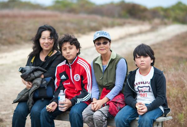 Soy's family in Nantucket