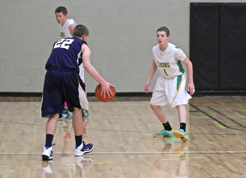 West Linn vs Canby February 21, 2014
