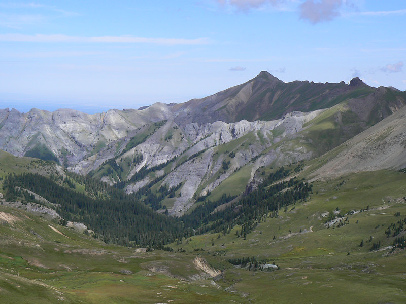 Engineer's Pass in San Juan Mountains