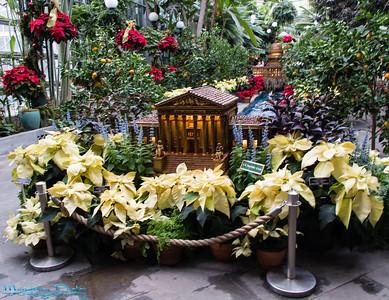 Botanical Gardens Holiday Trains