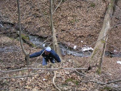 PTAG BABE Brady's Run Trail Maintenance - 20070304