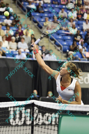 2014 Fed Cup - USA vs France  - World Group Playoffs - 04/19 - 04/20/14