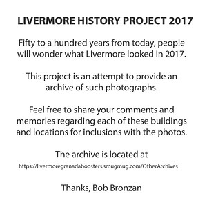 LIVERMORE HISTORY PROJECT 2017
