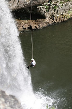 On Rope 1 Level 1 Rope Technician Training at Desoto Falls 6-05-05