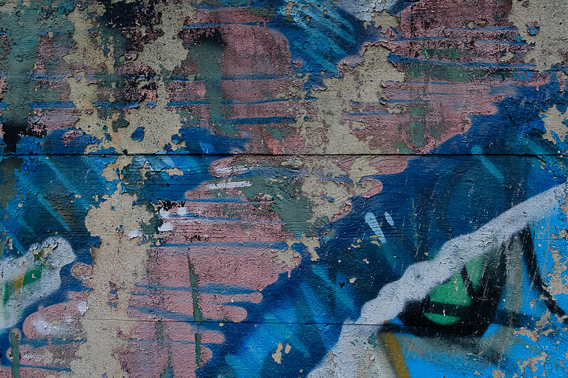 Dequindre Cut Abstract Blue